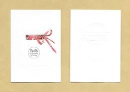 Carte Parfumée Perfume Card TWILLY Eau Poivrée * HERMES * R/V - Modernes (à Partir De 1961)