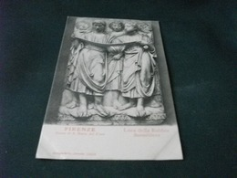 PICCOLO FORMATO  FIRENZE MUSEO S. MARIA DEL FIORE LUCA DELLA ROBBIA BASSORILIEVO - Sculture