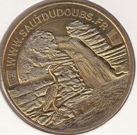 MONNAIE DE PARIS 25 VILLERS-LE-LAC Le Saut Du Doubs - Le Héron Cendré - 2014 - Monnaie De Paris
