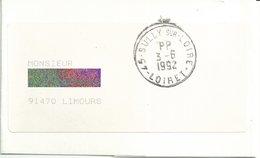 Cachet Manuel De Sully Sur Loire - Port Payé - PP à L'mplacement De L'heure - Sur Bande De Journal - Postmark Collection (Covers)