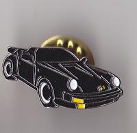 PIN'S THEME AUTOMOBILE  PORSCHE  COUPE  NOIRE - Porsche