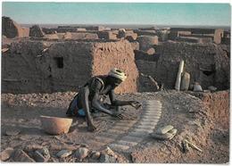 CP NIGER - Préparation Des Pains De Sel à  TEGGUIDAM-TESSOUM - Photo Maurice ASCANI , Niamey N°28 - Niger