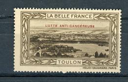 FRANCE - LUTTE ANTI-CANCEREUSE - LA BELLE FRANCE  - TOULON  (*) - Sonstige