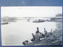 58 ,decize ,groupe De Laveuses Vers Le Nouveau Pont - Decize