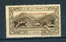 FRANCE - LUTTE ANTI-CANCEREUSE - LA BELLE FRANCE  - DIGNE (*) - Sonstige