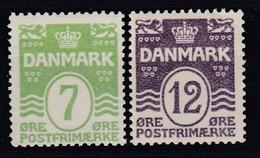 +Denmark 1926.  AFA 167-68. Michel 166-67. MNH(**) - 1913-47 (Christian X)