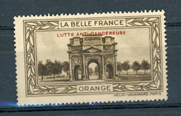 FRANCE - LUTTE ANTI-CANCEREUSE - LA BELLE FRANCE  - ORANGE (*) - Sonstige
