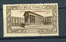 FRANCE - LUTTE ANTI-CANCEREUSE - LA BELLE FRANCE  - NIMES (*) - Sonstige