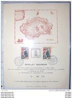 Feuillet Souvenir Tricentenaire Peuplement De La Reunion YT 365 - Otros