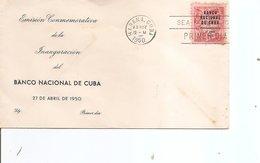 Cuba  ( FDC De 1950 à Voir) - FDC