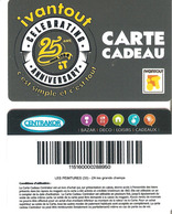 CARTE CADEAU IVANTOUT ANNIVERSAIRE - Cartes Cadeaux