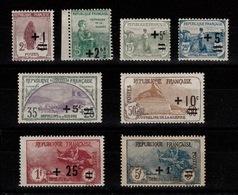 YV 162 à 169 N* (petites Valeurs N**) 2eme Orphelins Complete , Centrage Tres Correct Cote 255+ Euros - France