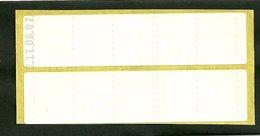 Carnet Timbres Fictifs De Maintenance De Distributeur Daté 17/06/97 - Libretti