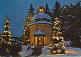 Austria Postcard Christkindl 18-12-1987 (Stille Nacht Gedächtnis Kapelle In Oberndorf) - Other