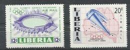 LIBERIA YVERT AEREO 101/2  MNH  ** - Liberia