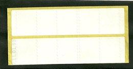 Carnet Timbres Fictifs De Maintenance De Distributeur Daté 11/01/99 - Otros