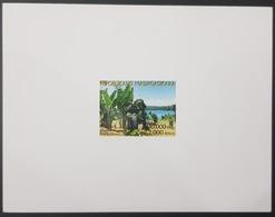 MADAGASCAR 2003 - DELUXE PROOF EPREUVE DE LUXE - CIMETIERE PIRATES ILE SAINTE MARIE ISLAND PIRATS CEMETERY TOURISM- RARE - Madagascar (1960-...)