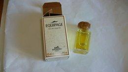 """Miniature De Parfum Hermès    """" Equipage   """" Eau De Toilette - Modern Miniatures (from 1961)"""