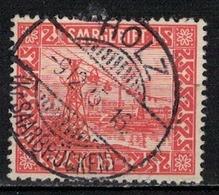 SARRE             N°     YVERT     87   OBLITERE       ( Ob  5/29 ) - 1920-35 Saargebiet – Abstimmungsgebiet