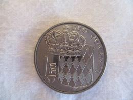 Monaco 1 Franc 1979 - 1960-2001 Nouveaux Francs