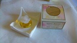 "Miniature De Parfum Nina Ricci  "" Fleur De Fleur  "" Parfum De Toilette - Modern Miniatures (from 1961)"