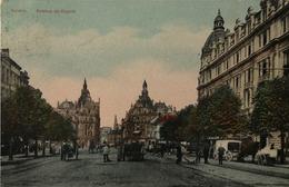 Antwerpen - Anvers /Avenue De Keyzer - Keyserlei (niet Standaard) Color 1910 - Antwerpen