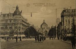Antwerpen - Anvers /Avenue De Keyzer - Keyserlei (niet Standaard)Tramhalte 1923. 0 - Antwerpen