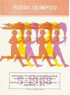 MEXICO  YVERT  754 EN TARJETA CONMEMORATIVA - Verano 1968: México