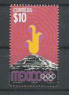 MEXICO  YVERT  754     MNH  ** - Verano 1968: México