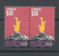 MEXICO  YVERT  754  (PAREJA)     MNH  ** - Verano 1968: México