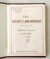 Estaleiro COCKERILL Navio Paquete INFANTE D.HENRIQUE Companhia Colonial Navegação CCN 1961. Depliant Naval SHIPYARD - Bateaux