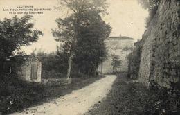 LECTOURE  Les Vieux Remparts (coté Nord) Et La Tour Du Bourreau RV  Ambulant Tarbes à Agen RV - Lectoure