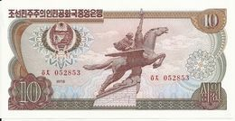 COREE DU NORD 10 WON 1978 UNC P 20 D - Corée Du Nord