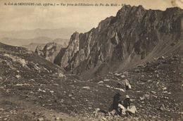 Col De SENCOURS (Alt 2378m) Vue Prise De L'Hotellerie Du Pic Du Midi RV - Frankreich