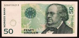 Norvegia Norges 1996 50 CORONEUNC Pick#46a Lotto.2693 - Norvegia
