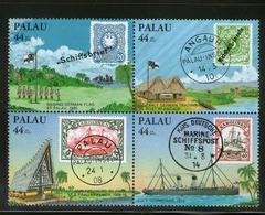 PALAU 1985 TRAITE AVEC ALLEMAGNE  YVERT N°A6/9 NEUF MNH** - Palau
