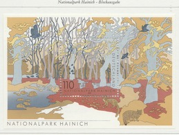 PIA  -  GERMANIA   -  2000 : Parco Nazionale Di Hainich  - (Yv Bf 51) - [7] Repubblica Federale