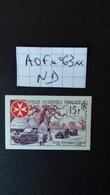 AFRIQUE OCCIDENTALE FRANCAISE  NON DENTELE - A.O.F. (1934-1959)