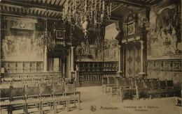 Antwerpen - Anvers / Stadhuis - Trouwzaal (Eerekaart Jongensschool Boogstraat 2) 1921 - Antwerpen