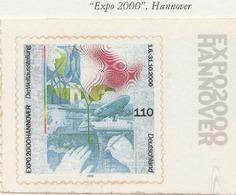 """PIA - GERMANIA - 2000 :  """"Expo 2000"""" - Esposizione Universale Di Hannover - (Yv 1939) - Nuovi"""