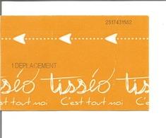 Ticket De Metro De Toulouse ( 1 Déplacement ) - Métro