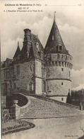 76 - Château De Mesnières - L'Escalier D'honneur Et La Tour S.-E. - Mesnières-en-Bray