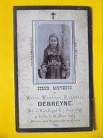 Faire Part Décès Image Pieuse Bergues West Cappel Debreyne - Décès