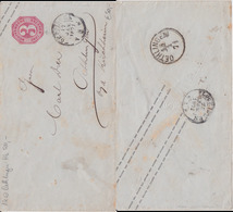 Württemberg U 17 Rücks K1 Oethlingen Aku A Göppingen 1871 RR - Wuerttemberg