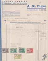 MEUBELFABRIEK / Meubles  -  A. DE TAEYE - GENT  1949 - Belgium
