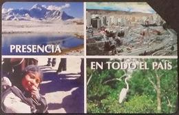 Telefonkarte Bolivien - Landschaft - Tradition - Vogel - 04/99 - Bolivien