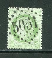 FRANCE- Y&T N°53- GC 5051 (ORAN) - Storia Postale (Francobolli Sciolti)