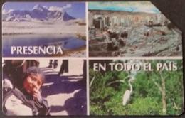 Telefonkarte Bolivien - Landschaft - Tradition - Vogel - 12/98 - Bolivië
