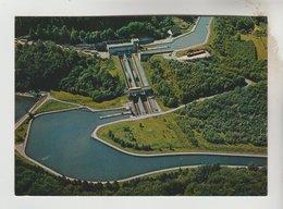 2 CPM SAINT LOUIS ARZWILLER (Moselle) - Ascenceur à Bateaux Canal Marne Au Rhin : - Francia