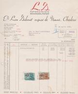 DELCOURT  Charleroi / Papiers-Peints 1950 Behang Papier - Belgium